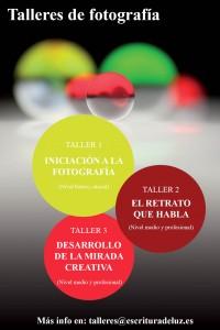 Workshops-Talleres de fotografía  Escritura de Luz   Pepita de Pepón