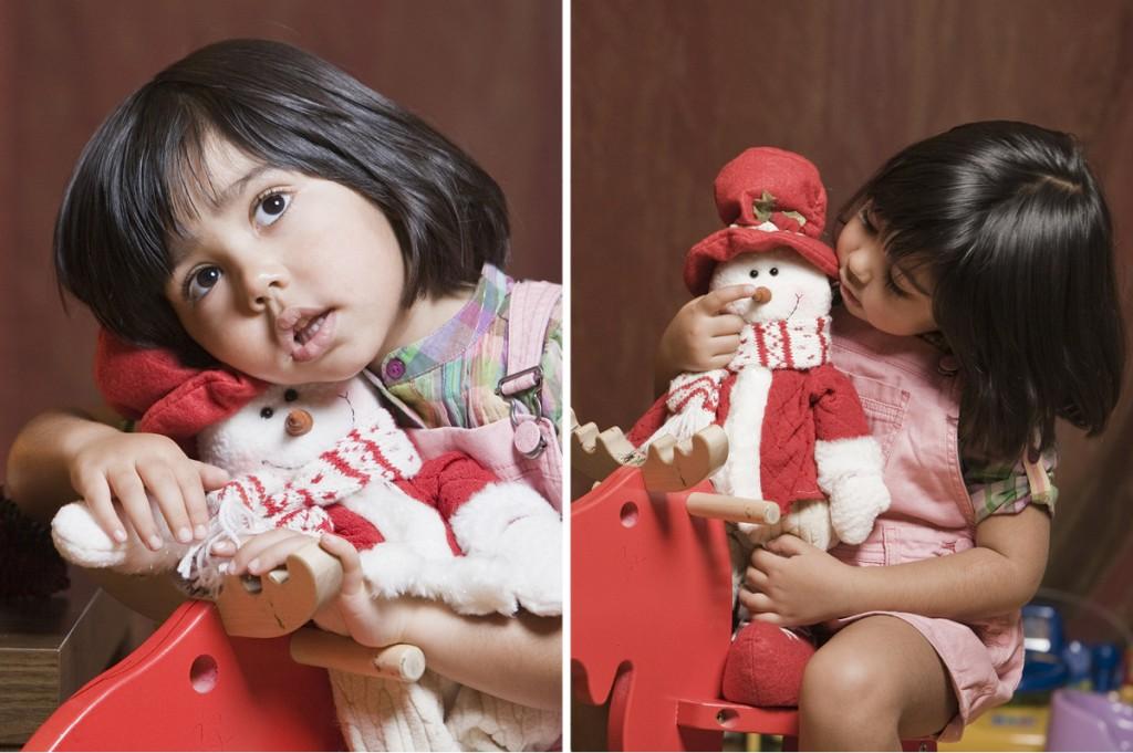 fotografía de niños y christmas