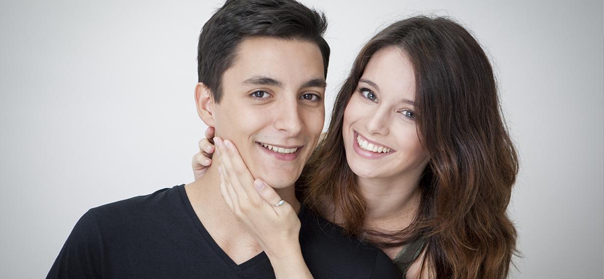 Sesiones románticas de fotos profesionales de parejas para San Valentin