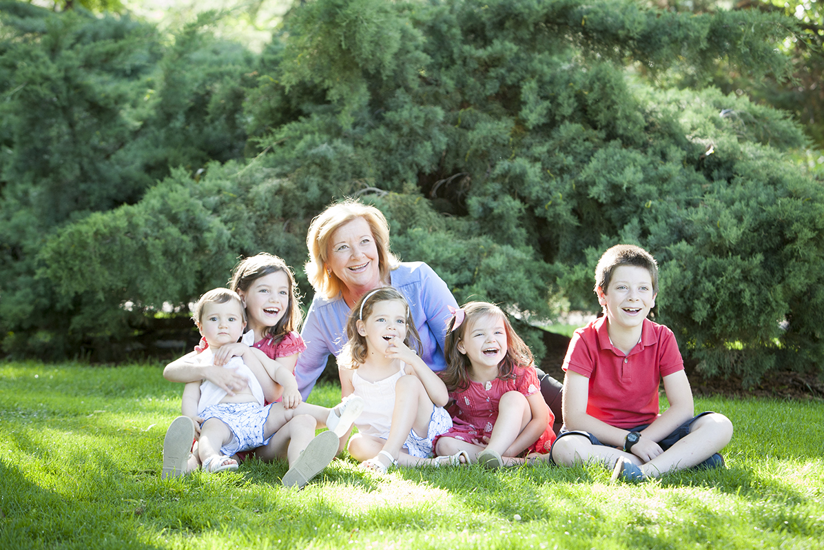 Sesiones familiares de fotos para familias en Madrid